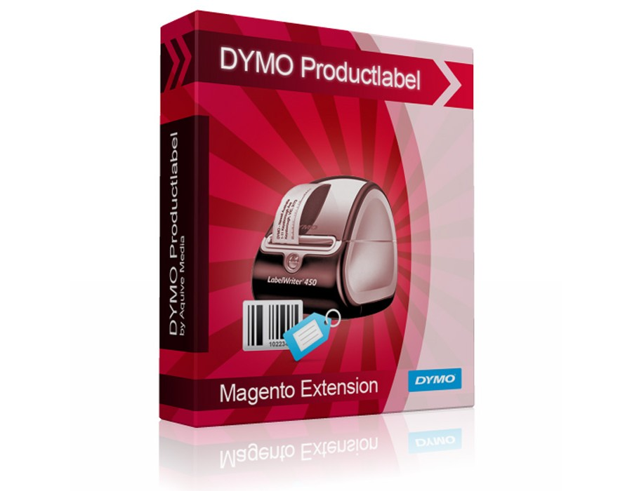 Magento 1 - DYMO LabelWriter Product label Directprint