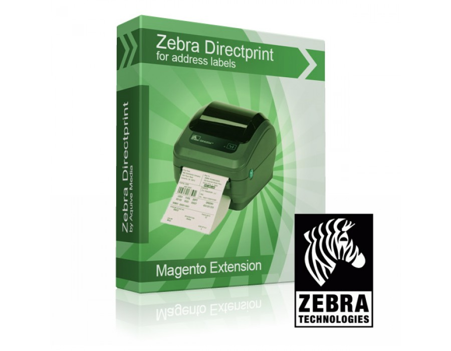 Magento 1 - Zebra Order Address Direct Print Extension - Magento